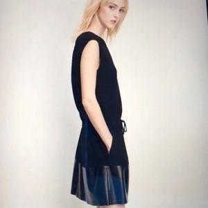 Vince Lamb Leather Dress